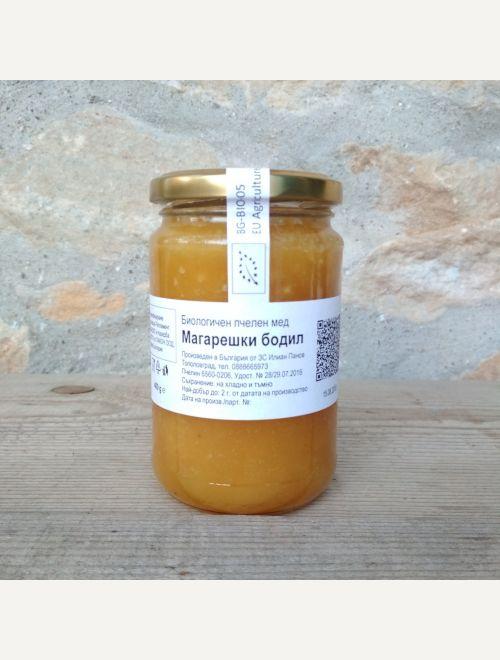 Биологичен пчелен мед Магарешки бодил