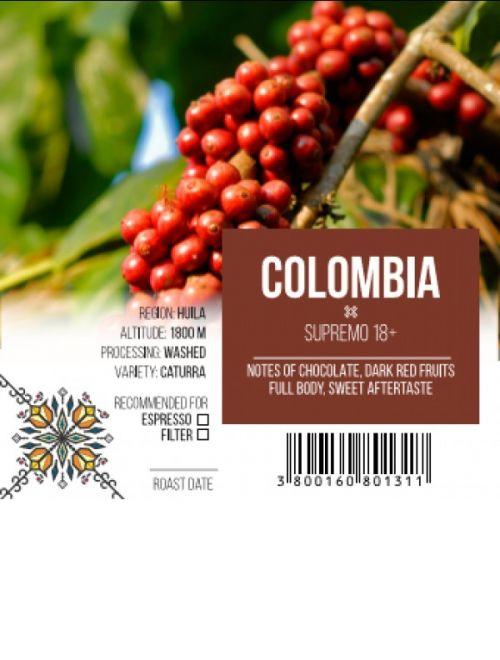 Колумбия, Супремо 18