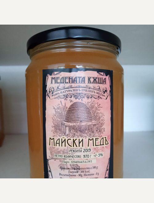 Майски мед - акация и детелина - 2019