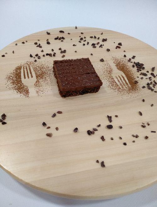 Шоколадов сладкиш с кокос