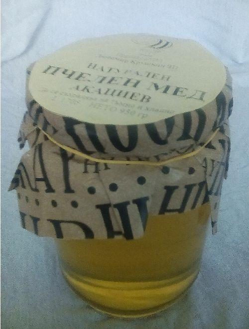 Акациев пчелен мед, буркан
