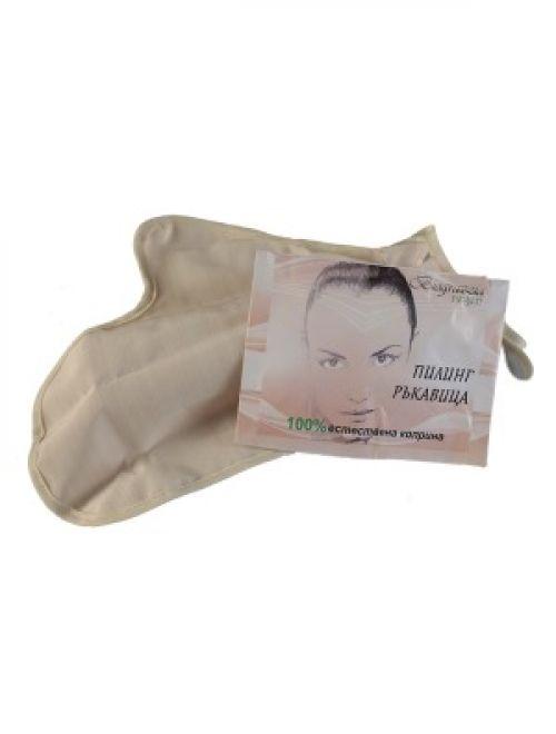 Пилинг ръкавица от естествена коприна