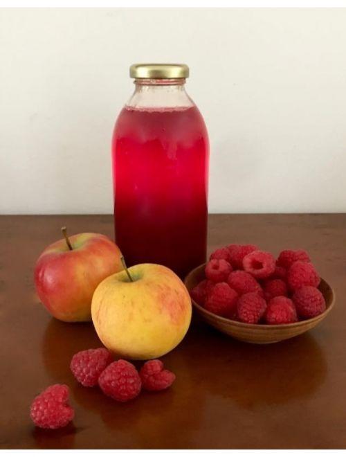 Био сок ябълка и малина