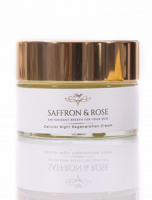 'Saffron and Rose' - Нощен крем