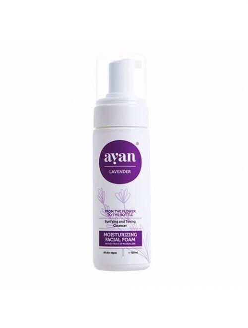 Хидратираща пяна за лице с екстракт от микроводорасли AYAN