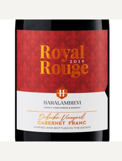 HARALAMBIEVI ROYAL ROUGE Cabernet Franc 2019