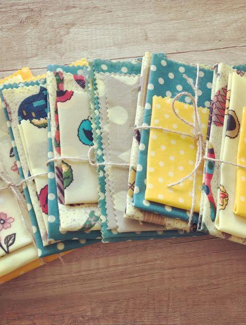 Комплект восъчни кърпи