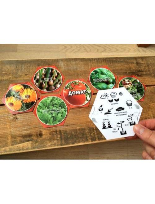 Дизайн карти за био градинки
