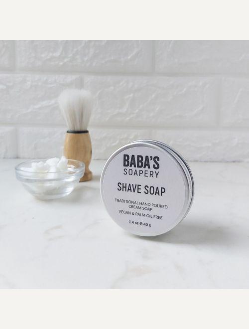 Традиционен бръснарски сапун