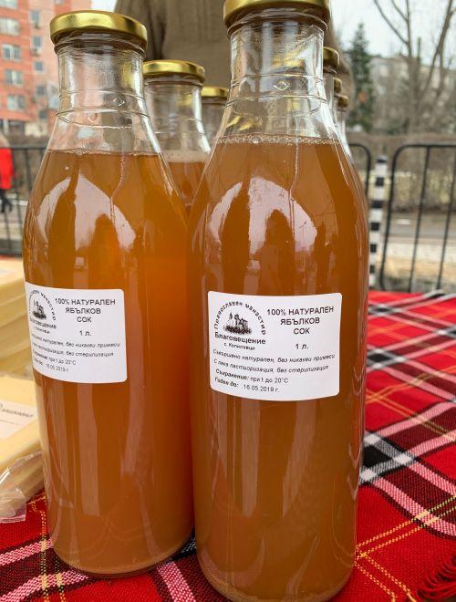 Ябълков сок, 1L