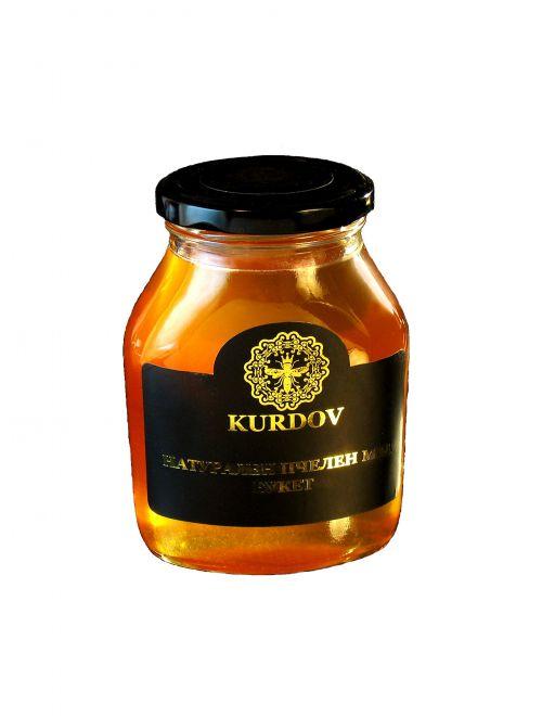 Полифлорен пчелен мед, кристализиран
