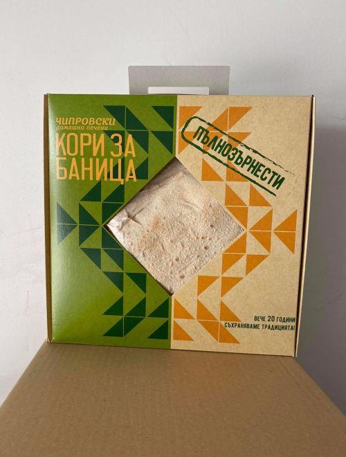 Пълнозърнести чипровски домашно печени кори за баница