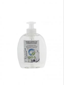 Течен сапун със сребърна вода