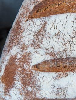 Ръжено-пшеничен хляб с ръжени ядки