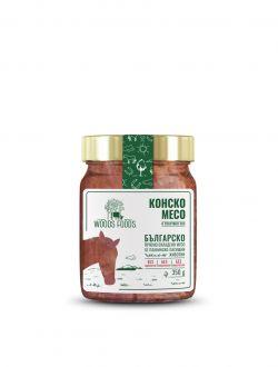 Конско месо в собствен сос