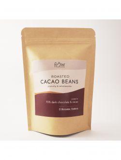 Печени какаови зърна с натурален шоколад