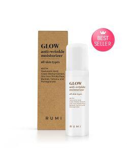 Дълбоко хидратиращ дневен крем за лице RUMI, серия GLOW