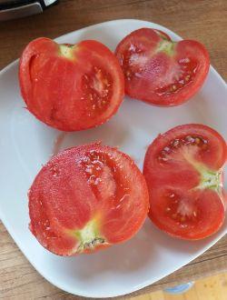 Розови домати, био
