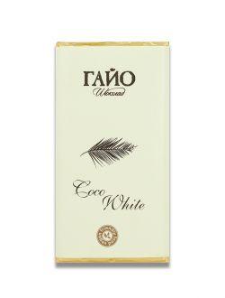 Веган бял шоколад Coco White