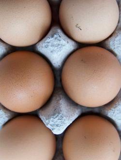 Яйца кокоши, кутия