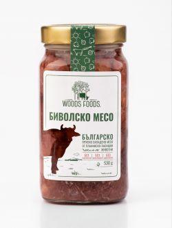 Биволско месо в собствен сос