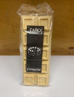 Кулинарен шоколад, бял