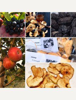 Ошав със сливи, ябълки и арония