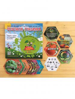 Комплект Дизайн-карти и Наръчник за Вкусната градинка