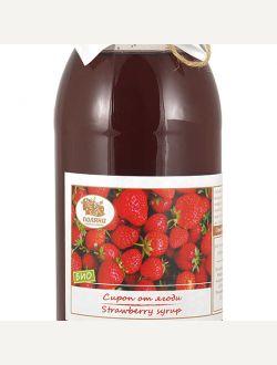 Сироп от ягоди, био