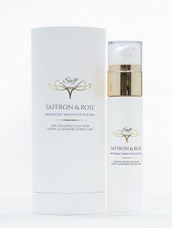 'Saffron and Rose' - Маска за лице против замърсявания